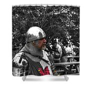 Tudor Knight In Armor  V1 Shower Curtain