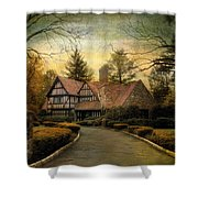 Tudor Road Shower Curtain