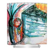 Tuesday Afternoon Shower Curtain