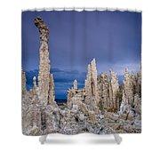 Tufa Garden Shower Curtain