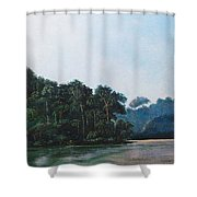 Tuira Shower Curtain