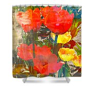 Tulip Abstracts Shower Curtain