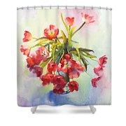 Tulip Fling Shower Curtain