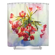 Tulip Fling Shower Curtain