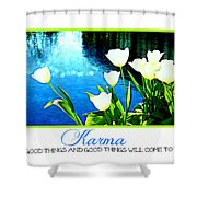 Tulip Karma Shower Curtain