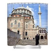 Tulip Mosque In Istanbul Shower Curtain