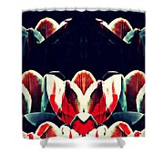 Tulip Panorama Shower Curtain