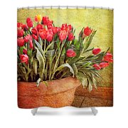 Tulip Tumble Shower Curtain