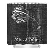 Tulip - Vivre Et Aimer S10t04t Shower Curtain