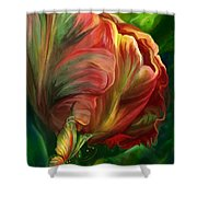 Tulips - Colors Of Paradise Shower Curtain