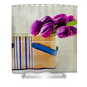 Tulips For Mom Shower Curtain