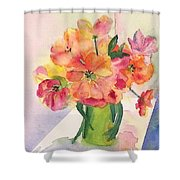 Tulips For Mother's Day Shower Curtain