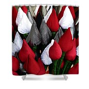 Tulips For Sale Shower Curtain