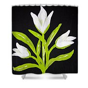 Tulips Shower Curtain by Melissa Dawn