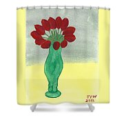 Tulips Of Love Shower Curtain