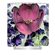 Tulips - Perfect Love - Photopower 2028 Shower Curtain