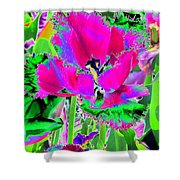 Tulips - Perfect Love - Photopower 2184 Shower Curtain