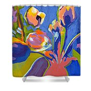 Tulip Variations  Shower Curtain