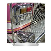 Tulsa Fire Department At State Fair P5 Shower Curtain