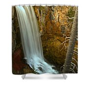 Tumalo And The Tree Shower Curtain