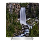 Tumalo Falls - Oregon Shower Curtain