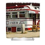 Tumble Inn Diner Claremont Nh Shower Curtain