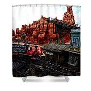 Tumbleweed Town Magic Kingdom Shower Curtain