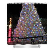 Tumbleweed Christmas Tree Shower Curtain