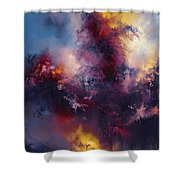 Tumult Shower Curtain
