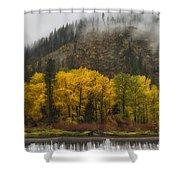 Tumwater Canyon Shower Curtain