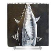 Tuna Shower Curtain