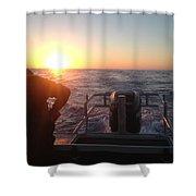 Tuna Trip Shower Curtain