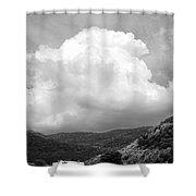 Tunbridge Vermont Storm Cloud Open Edition Shower Curtain