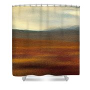 Tundra Autumn Melody Shower Curtain