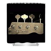 Fender Precision Bass Shower Curtain