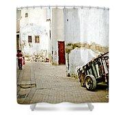 Tunisian Girl Shower Curtain by John Wadleigh