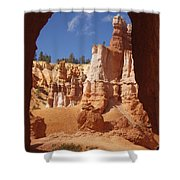 Tunnel In Bryce Shower Curtain