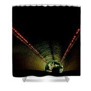 Tunnel In Colorado  Shower Curtain