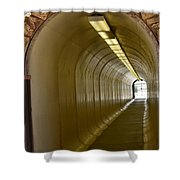 Tunnel To The Berkeley Pit Shower Curtain