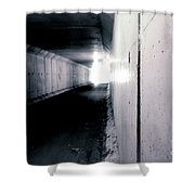 Tunnel Vision Shower Curtain