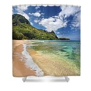 Tunnels Beach Bali Hai Point Shower Curtain