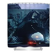 Tunnelvision Shower Curtain