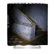 Tuol Sleng Cambodia Shower Curtain