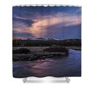 Tuolumne Meadows Sunset Shower Curtain