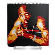 Tupac Pray For A Brighter Day Shower Curtain
