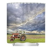 Turbo Tractor Country Evening Skies Shower Curtain by James BO  Insogna