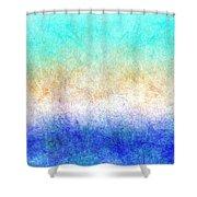 Turbulence Ocean Storm At Sunset Shower Curtain