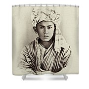 Turkestan Mazang, C1865 Shower Curtain