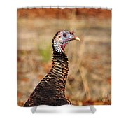 Turkey Profile Shower Curtain
