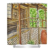 Turkey Track Musicians Entrance 2014 Shower Curtain